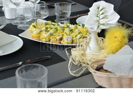 Appetizer With Eggs