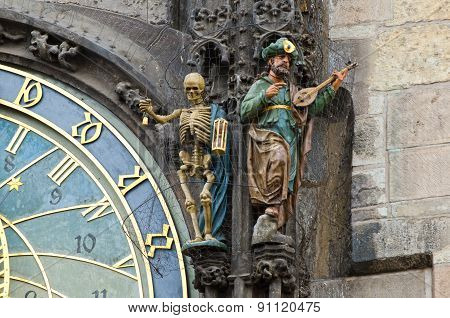 The Prague (Czech Republic) astronomical clock