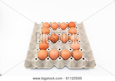 Eggs Alphabet Shape