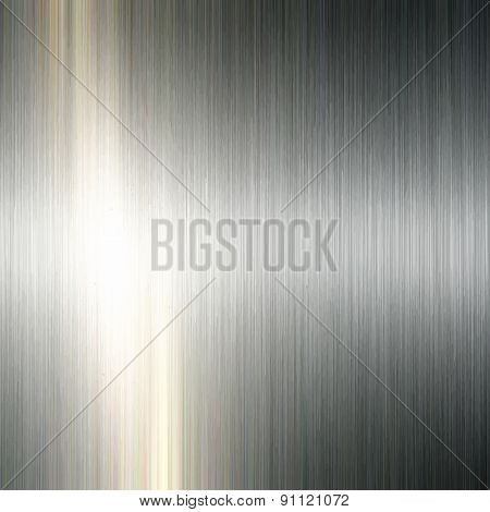 Detailed background with a brushed metal texture