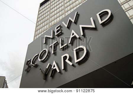 New Scotland Yard, London