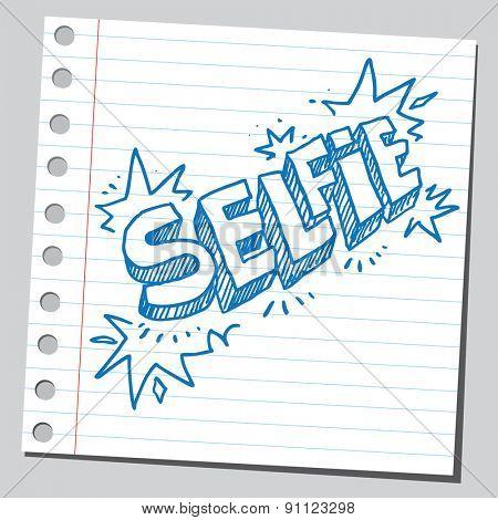 Word selfie