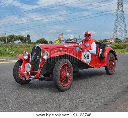 Classic Car Racing The Mille Miglia Race