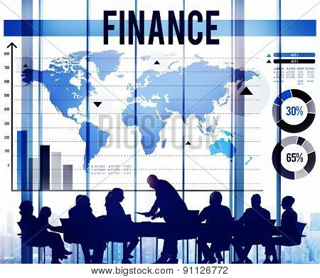 Finance Marketing Business Banking Concept