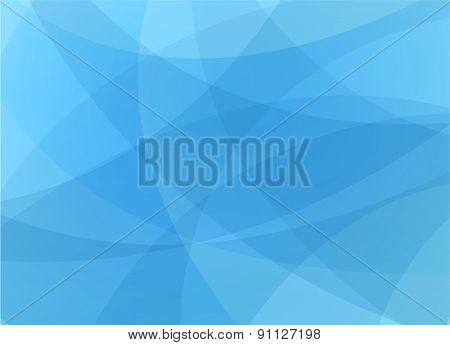 blue abstract background template design