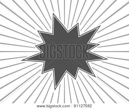 starburst splash black background template