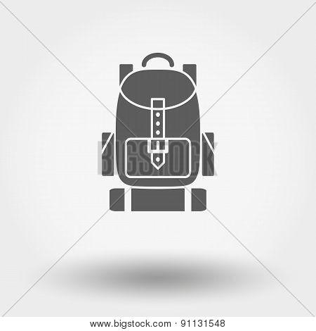 Travel backpack.