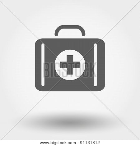 Suitcase first aid.