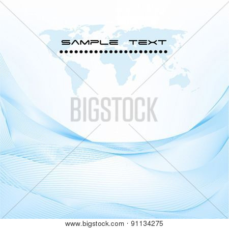 Business Template Background Vector