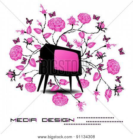media design vector