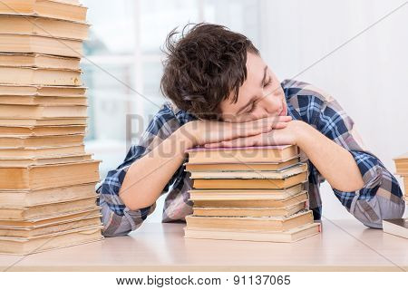 Concept for teenagers in library
