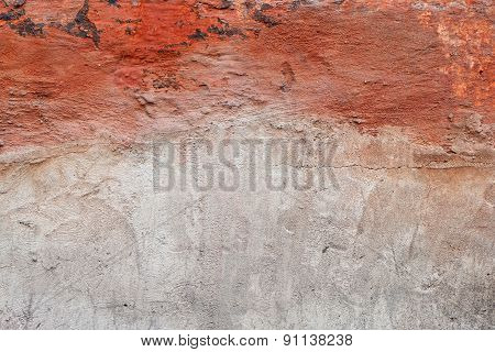 Red Gray Grunge Wall