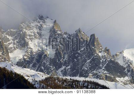 Aiguille du Plan, 3673 m, Aiguilles du Chamonix, Mont Blanc Massif, Alps, Chamonix, France