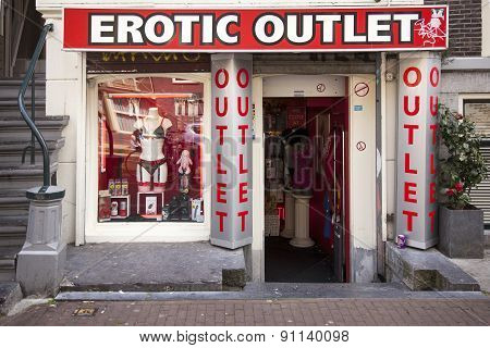 Erotic Outlet Store In The Centre Of Amsterdam