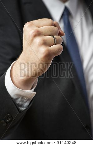 Fist Of Businessman