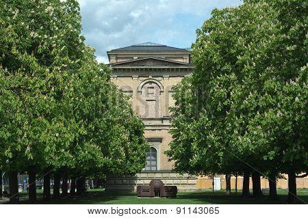 Pinakothek With Chestnut Trees