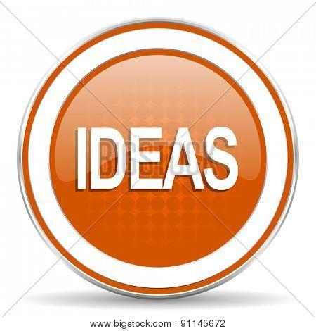 ideas orange icon