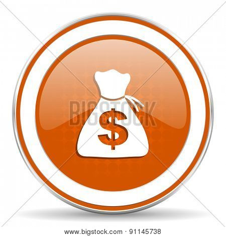 money orange icon