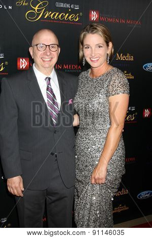 LOS ANGELES - MAY 19:  Paul Larosa, Guest at the 40th Anniversary Gracies Awards at the Beverly Hilton Hotel on May 19, 2015 in Beverly Hills, CA