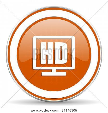 hd display orange icon