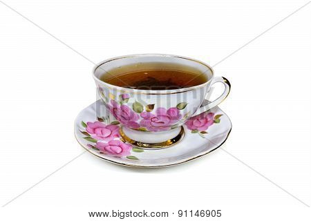 cup of tea isolate