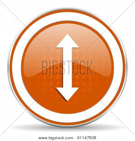 arrow orange icon