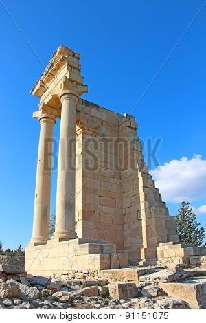 Temple Of Apollo Hylates At Kourion, Cyprus