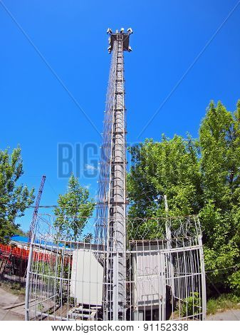 Tower And Equipment For Cellular Communication
