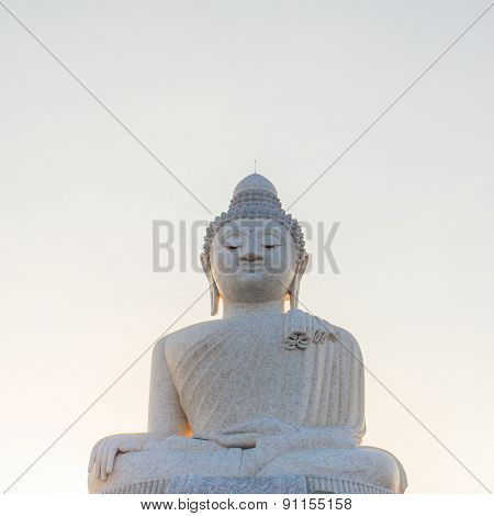Big Buddha statue on Phuket, Thailand