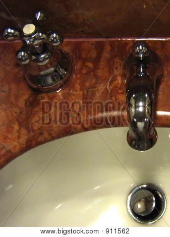 Designer Tap And Sink Portrait