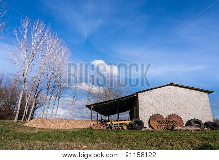 Shed For Farm Implements