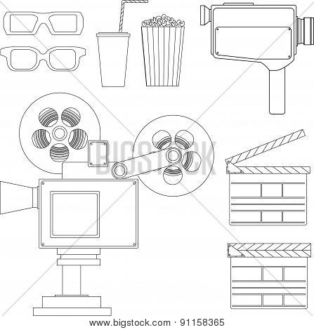 Set of movie line objects