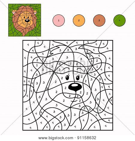 Numbers Game (lion)