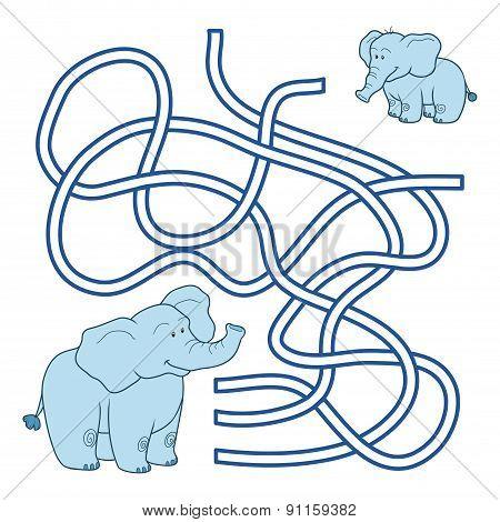 Maze Game (elephant)