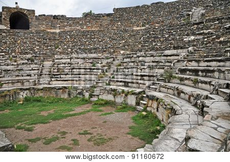 The Odeon - Ephesus' small theater