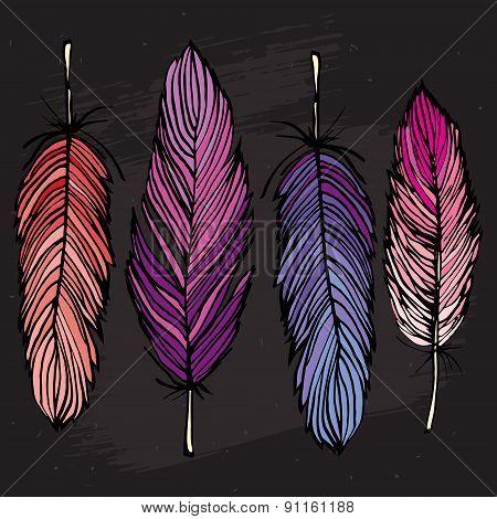 Four Feather Set