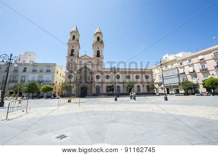 San Antonio Square, Cadiz, Spain