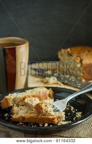 Banana Bread And Coffee