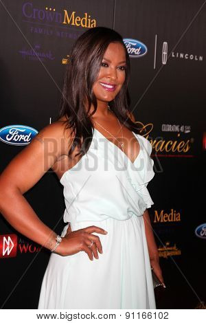 LOS ANGELES - MAY 19:  Laila Ali at the 40th Anniversary Gracies Awards at the Beverly Hilton Hotel on May 19, 2015 in Beverly Hills, CA