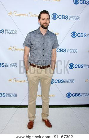 LOS ANGELES - MAY 18:  Rob Kerkovich at the CBS Summer Soiree 2015 at the London Hotel on May 18, 2015 in West Hollywood, CA