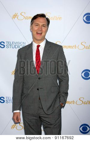 LOS ANGELES - MAY 18:  David Morrissey at the CBS Summer Soiree 2015 at the London Hotel on May 18, 2015 in West Hollywood, CA