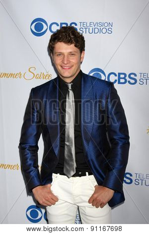 LOS ANGELES - MAY 18:  Brett Dier at the CBS Summer Soiree 2015 at the London Hotel on May 18, 2015 in West Hollywood, CA