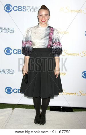 LOS ANGELES - MAY 18:  Renee Felice Smith at the CBS Summer Soiree 2015 at the London Hotel on May 18, 2015 in West Hollywood, CA