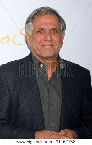 LOS ANGELES - MAY 18:  Les Moonves at the CBS Summer Soiree 2015 at the London Hotel on May 18, 2015 in West Hollywood, CA