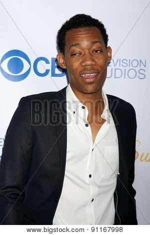 LOS ANGELES - MAY 18:  Tyler James Williams at the CBS Summer Soiree 2015 at the London Hotel on May 18, 2015 in West Hollywood, CA