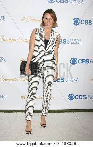 LOS ANGELES - MAY 18:  Keltie Knight at the CBS Summer Soiree 2015 at the London Hotel on May 18, 2015 in West Hollywood, CA
