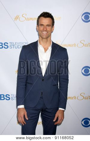 LOS ANGELES - MAY 18:  Cameron Mathison at the CBS Summer Soiree 2015 at the London Hotel on May 18, 2015 in West Hollywood, CA