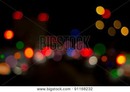 Lights Abstract Background.