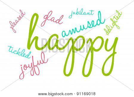 Happy Word Cloud