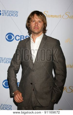 LOS ANGELES - MAY 18:  Eric Christian Olsen at the CBS Summer Soiree 2015 at the London Hotel on May 18, 2015 in West Hollywood, CA